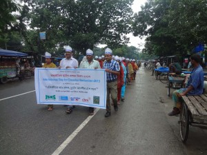 Rally of International Day for Disaster Risk Reduction