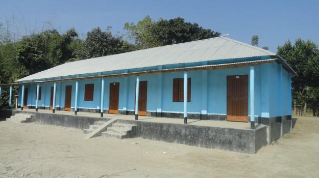 School Cum Flood Shelter Renovation