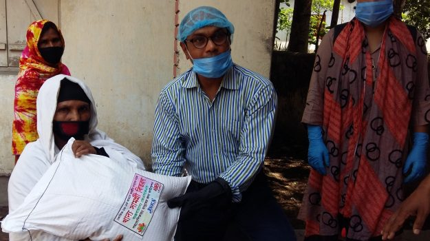 Emergency Food Distribution During Lockdown period of COVID-19 Pandemic